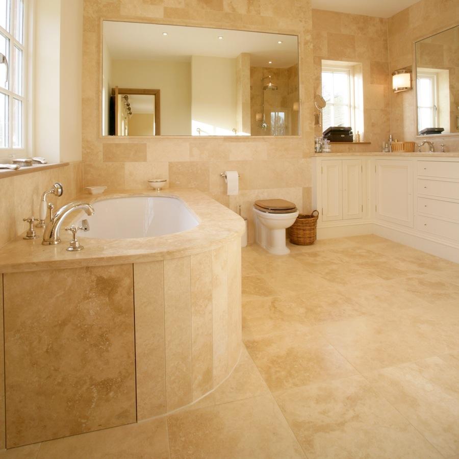 amenajare baie cu marmura