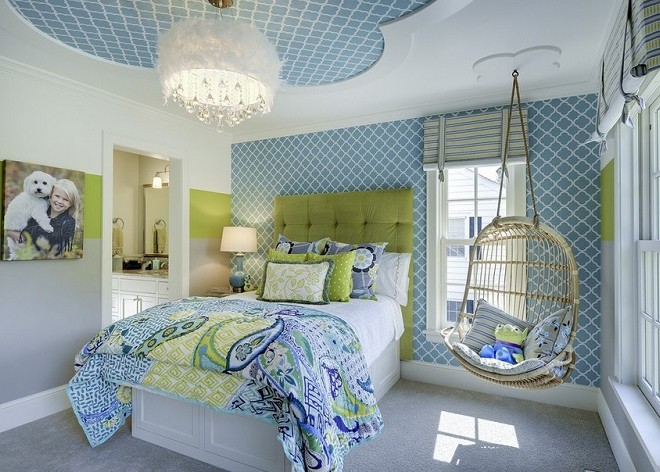 alb verde gri dormitor