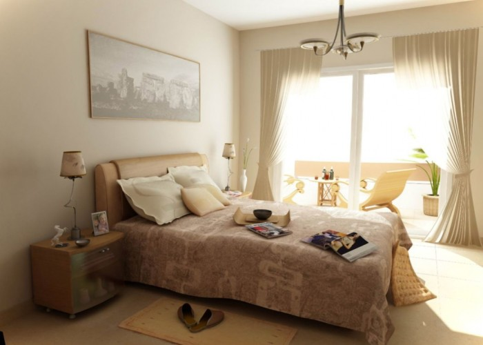 dormitor apartament mare