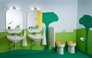 modele bai pentru copii verzi